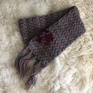 Lorenzo - Italian knit wool scarf
